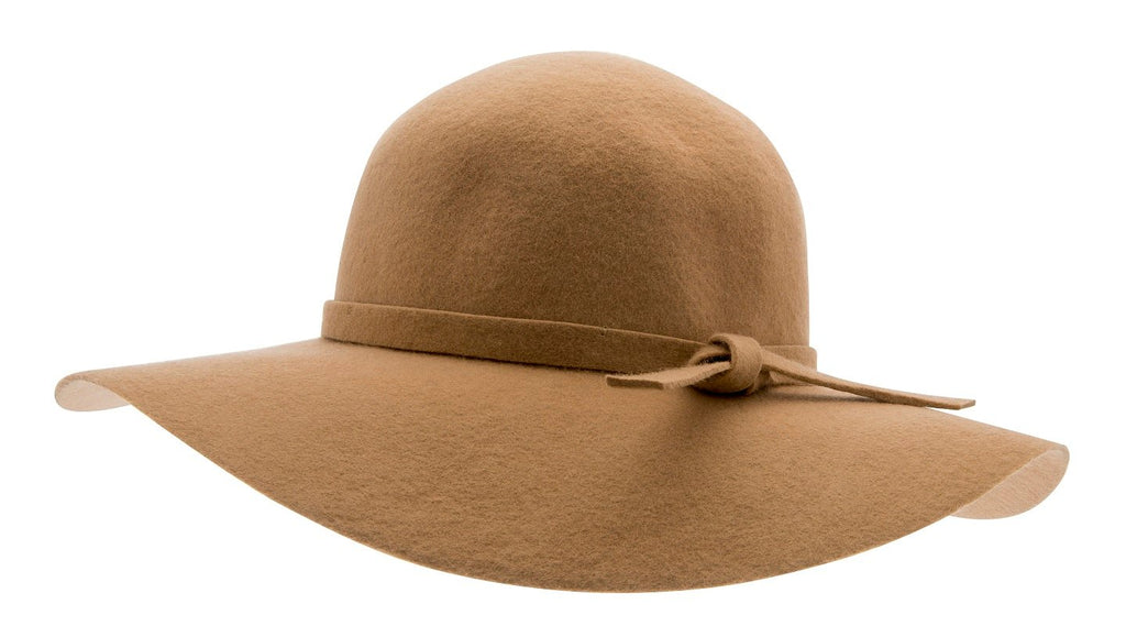 Felt hat - Amy Sr. Floppy felt hat Camel - CTH Ericson of Sweden