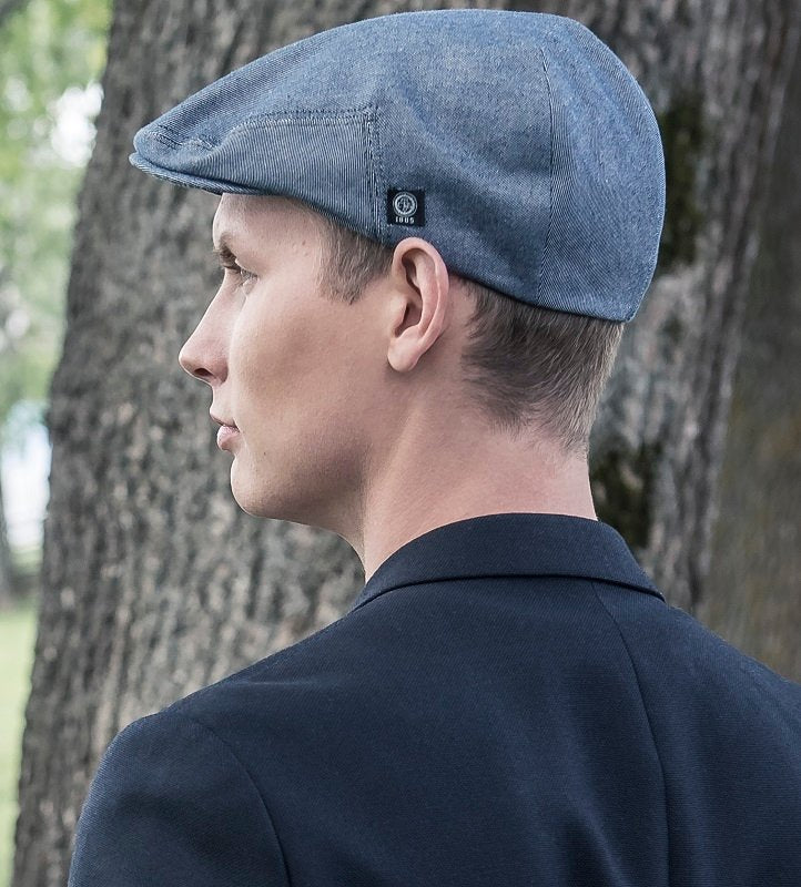 Flat cap - Edward Sr. Morgado/Liberty Blue - CTH Ericson of Sweden