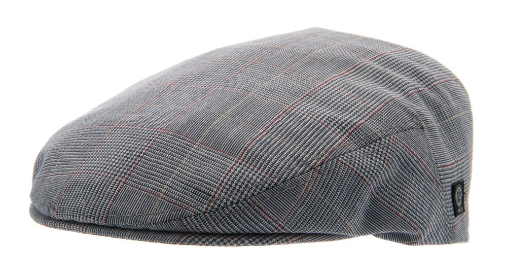 Flat cap - Edward Sr. Estate Blue - CTH Ericson of Sweden