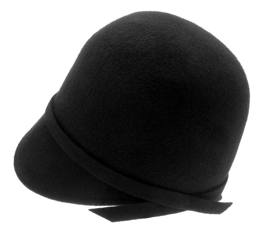 Felt hat - Analise Sr. Cloche felt hat Black - CTH Ericson of Sweden
