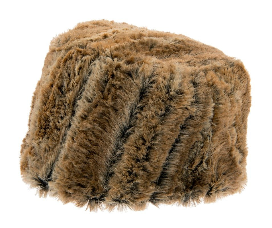 Faux Fur hat - Greta Sr. Faux Fur Brown - CTH Ericson of Sweden