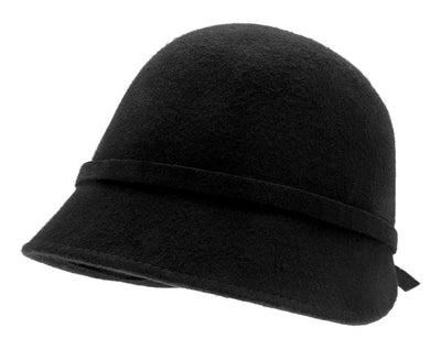 Felt hat - Analise Sr. Cloche felt hat Black - CTH Ericson