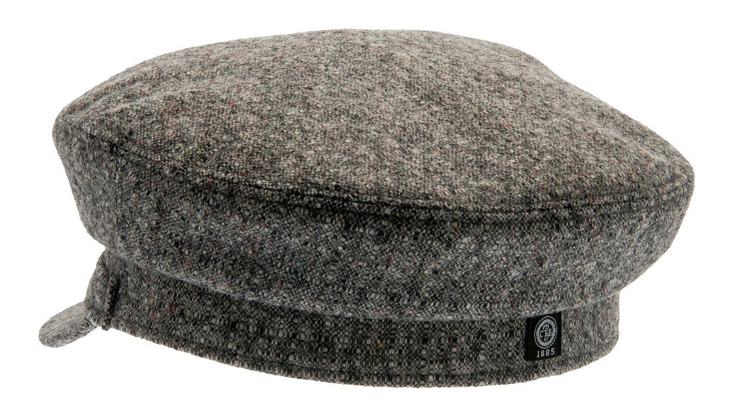 Fiddler cap - Dani Sr. Rondo Grey - CTH Ericson of Sweden