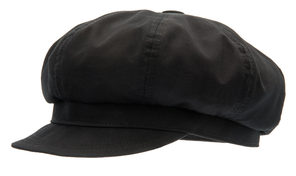 Oversized cap - Heidi Vinci Black - CTH Ericson of Sweden