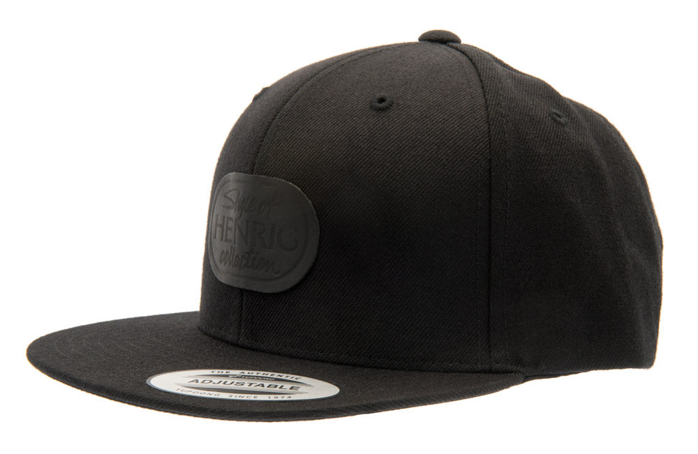 Henric Snapback Cap - Black- Youth 6-12 y. - CTH Ericson of Sweden