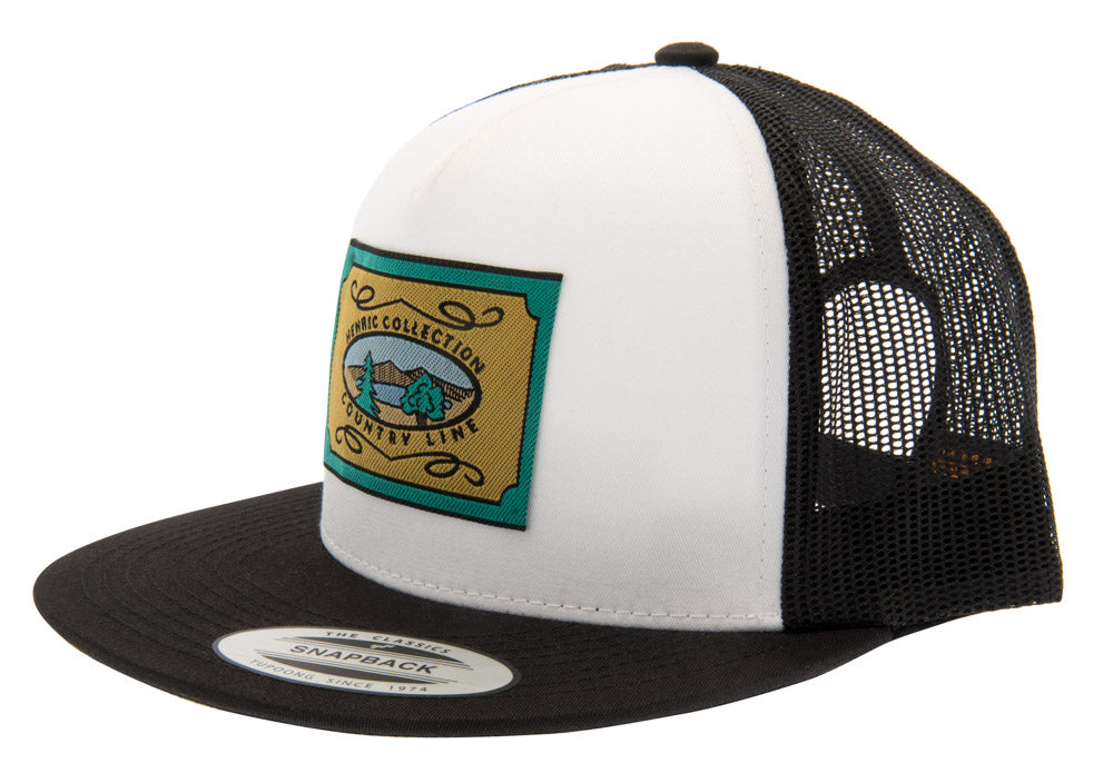 Henric Trucker Cap - White - CTH Ericson of Sweden