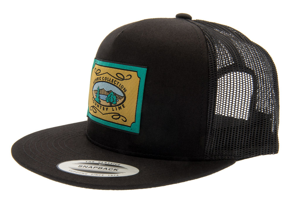 Baseball - Henric Trucker Cap - Black - CTH Ericson of Sweden