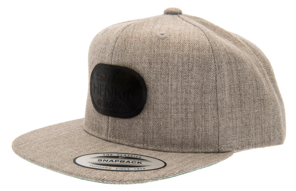 Baseball - Henric Snapback Cap - Grey - Youth 6-12 y. - CTH MINI
