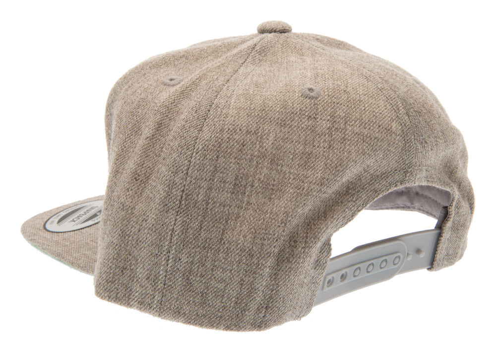 Henric Snapback Cap - Grey - Youth 6-12 y. - CTH Ericson of Sweden