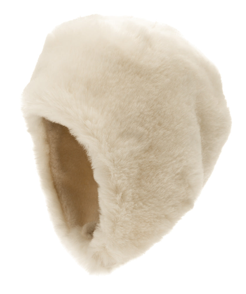 Birgitta Jr. Faux Fur White - CTH Ericson of Sweden