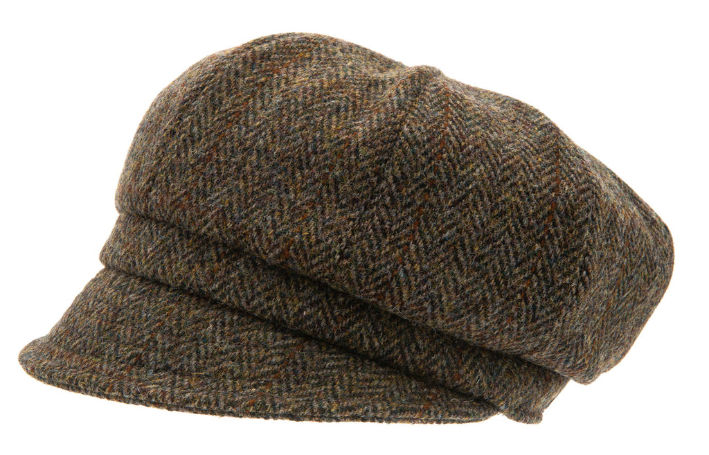 Women's Hat - Regina Sr. Harris Tweed Green - CTH Ericson of Sweden