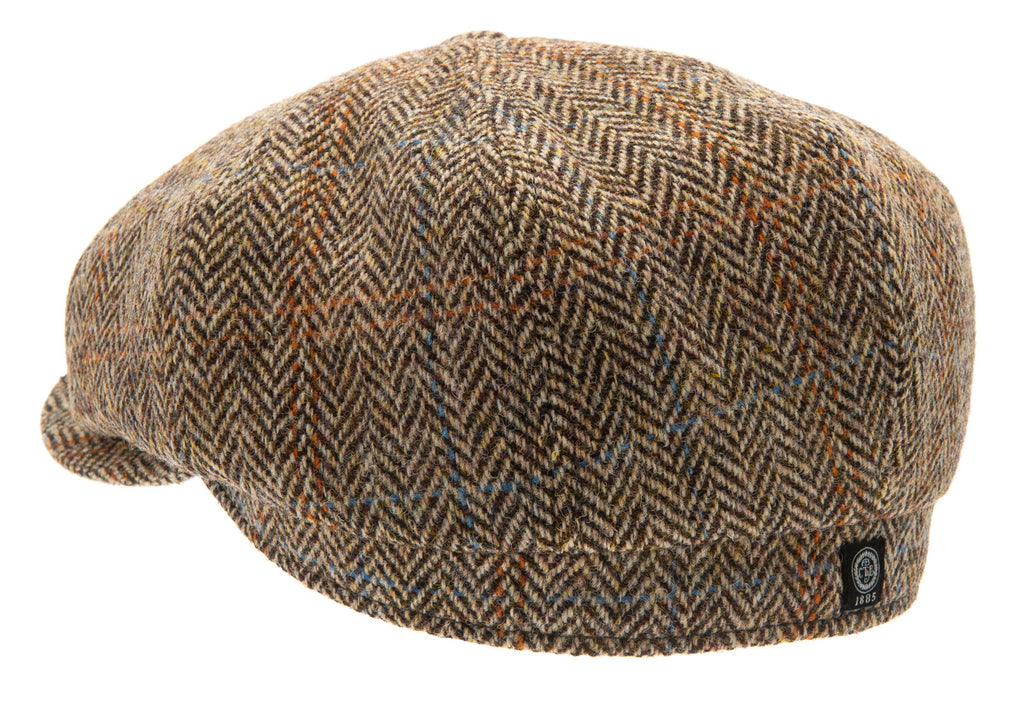 Newsboy cap - Alan Sr. Harris Tweed Camel - CTH Ericson of Sweden
