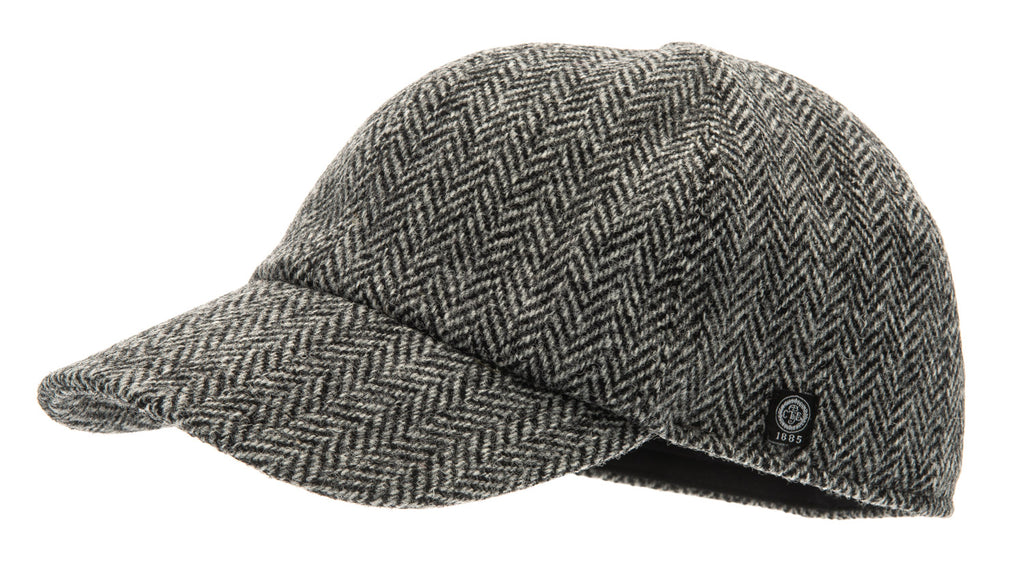 Baseball - James Sr. Harris Tweed Black - CTH Ericson of Sweden