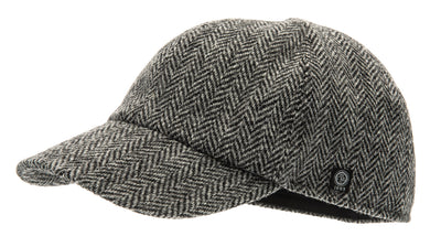 Baseball - James Sr. Harris Tweed Black - CTH Ericson