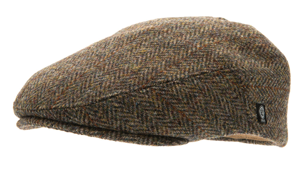 Flat cap - Edward Sr. Harris Tweed Green - CTH Ericson of Sweden
