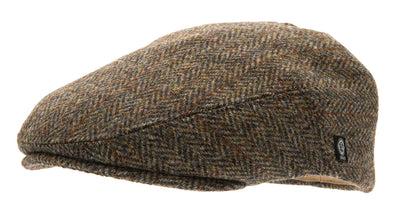 Flat cap - Edward Sr. Harris Tweed Green - CTH Ericson