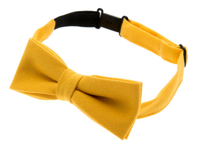 Kids Bow tie - Knut Jr. Mono Yellow - CTH MINI