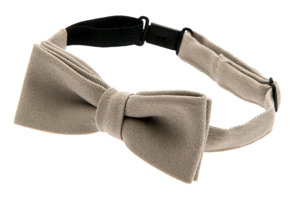Kids Bow tie - Knut Jr. Mono Kakhi - CTH MINI