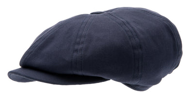 Kids Newsboy cap - Gordon Jr. Mono Blue - CTH MINI