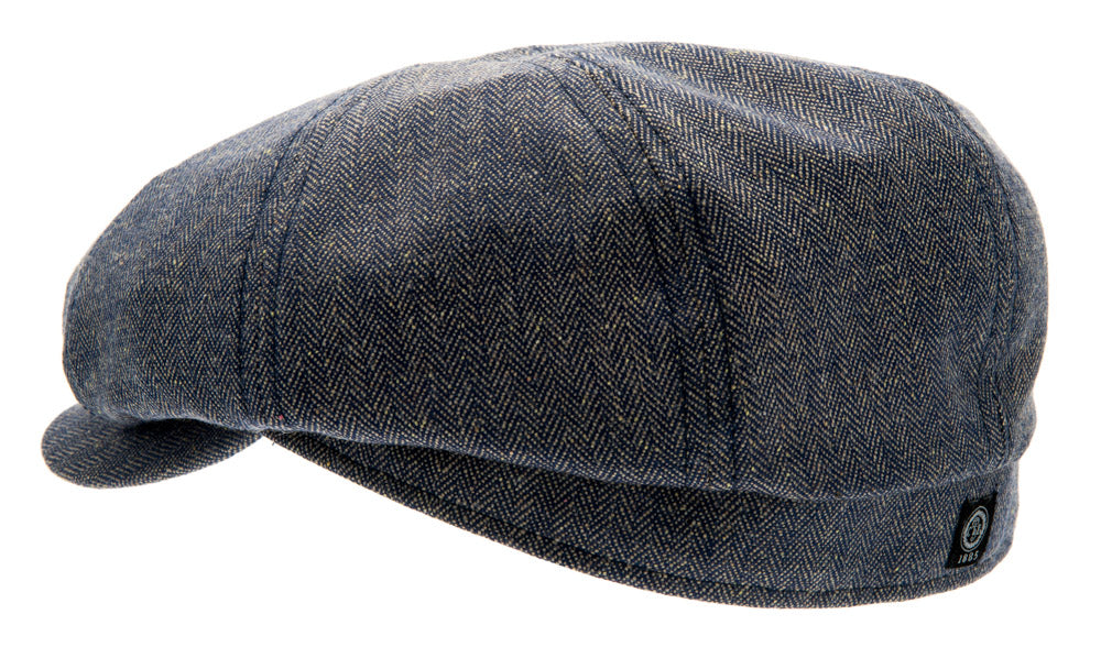 Newsboy cap - Alan Sr. Belo Blue - CTH Ericson of Sweden