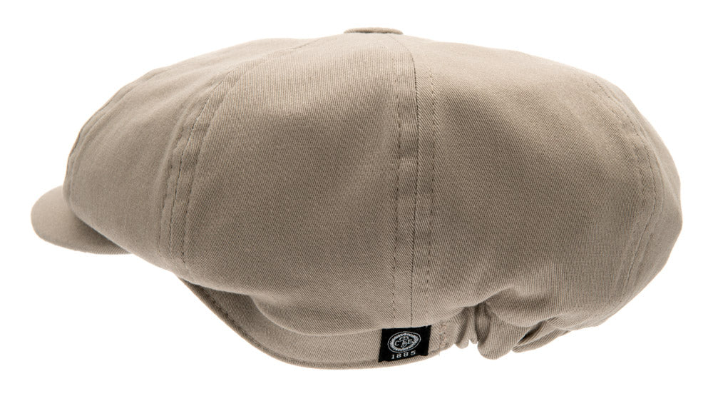 Kids Newsboy cap - Gordon Jr. Mono Kakhi - CTH MINI