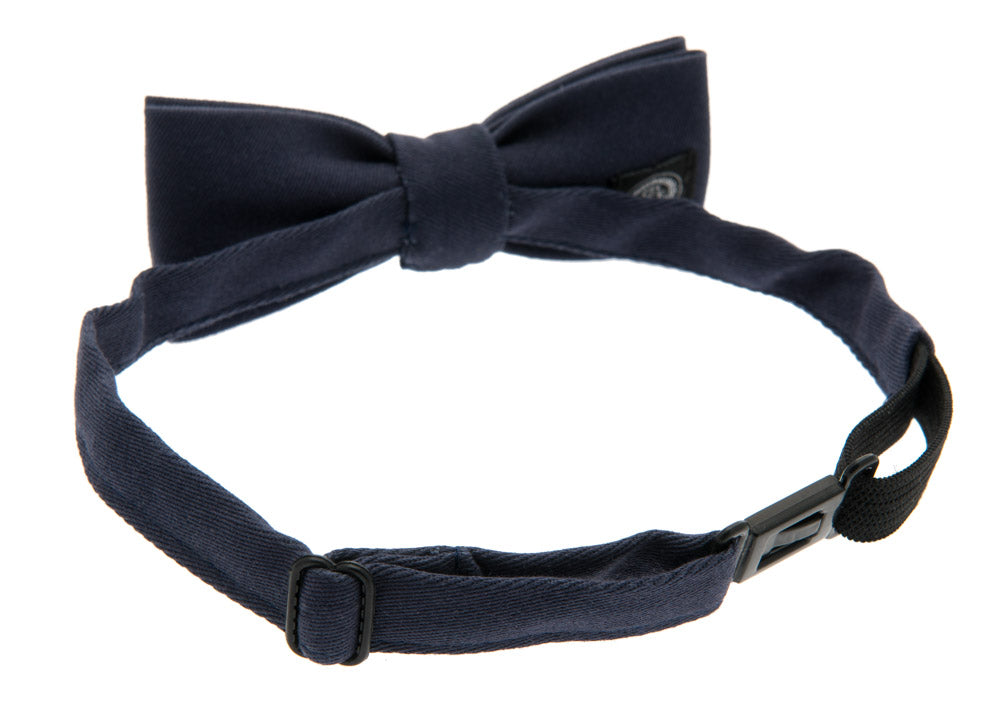 Kids Bow tie - Knut Jr. Mono Blue - CTH MINI