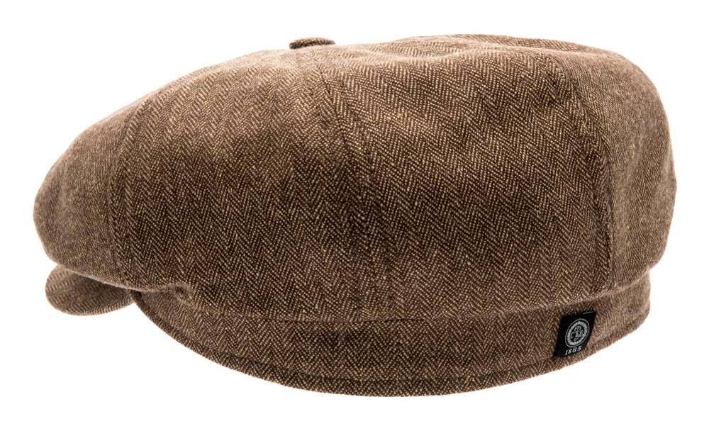 Newsboy cap - Alan Sr. Belo Brown - CTH Ericson