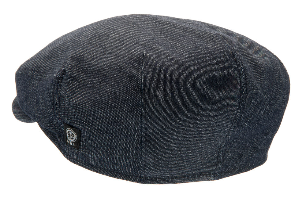 Flat cap - Carl Sr. Organic Denim Blue - CTH Ericson of Sweden