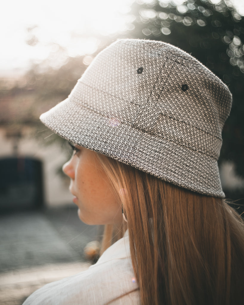 Bucket hat - Bali Sr. Floro Black - CTH Ericson of Sweden