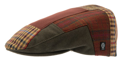 Flat cap - Edward Re-source Patchwork - CTH Ericson