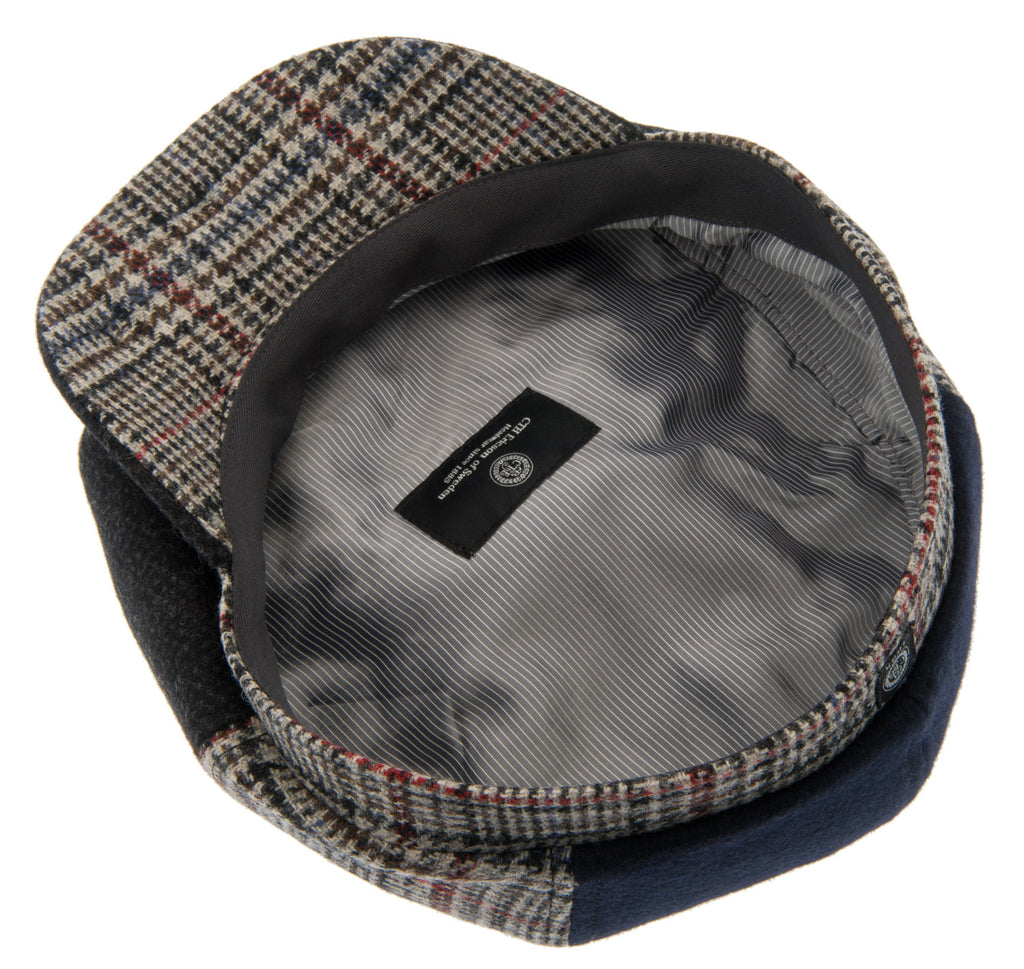 Newsboy cap - Alan Re-source Patchwork - CTH Ericson of Sweden