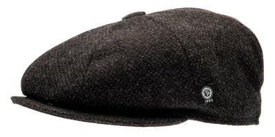Newsboy cap - Gustav Re-Source Wool Grey - CTH Ericson