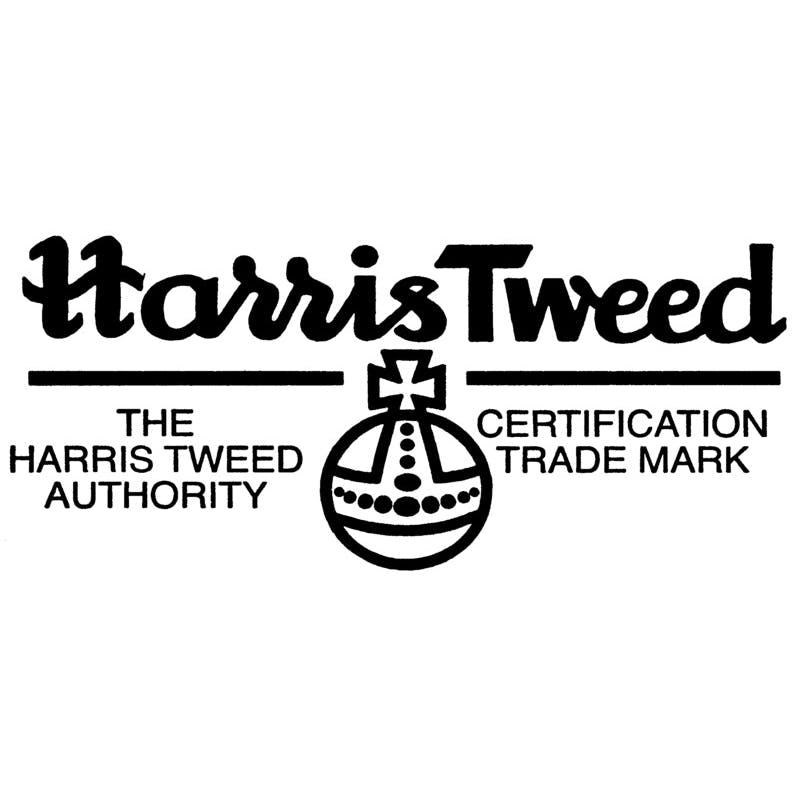 Edward Sr. Harris Tweed Overcheck Blue