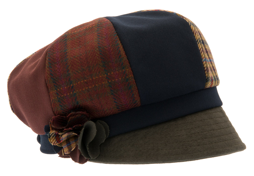 Women's Hat - Lydia Re-source Patchwork - CTH Ericson of Sweden