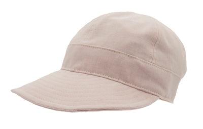 Women's cap with large peak - Laura Sr. Cotolino Soft Pink - CTH Ericson