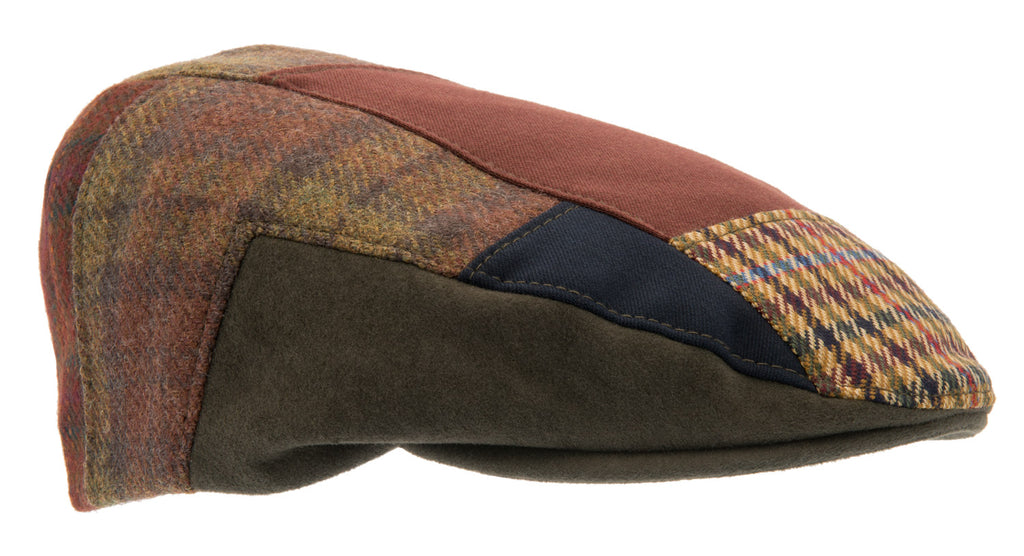 Flat cap - Edward Re-source Patchwork - CTH Ericson of Sweden