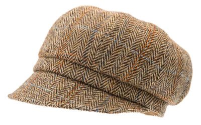 Women's Hat - Regina Harris Tweed Camel - CTH Ericson