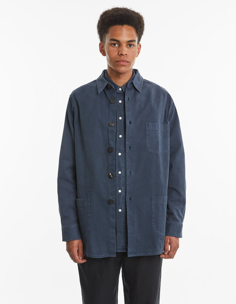 Overshirt Overdye One | Dark Blue