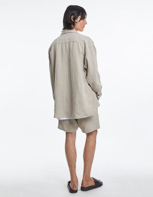Overshirt Oversized | Oatmeal