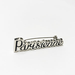 Parisienne Brooch | Nickel