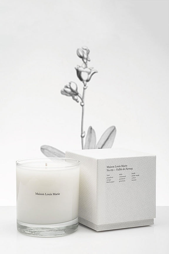 Candle | No. 09 Vallée de Farney - Leo Boutique