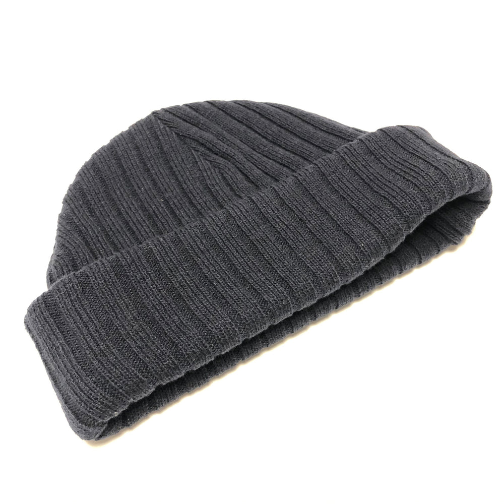 Ribbed Beanie | Charcoal