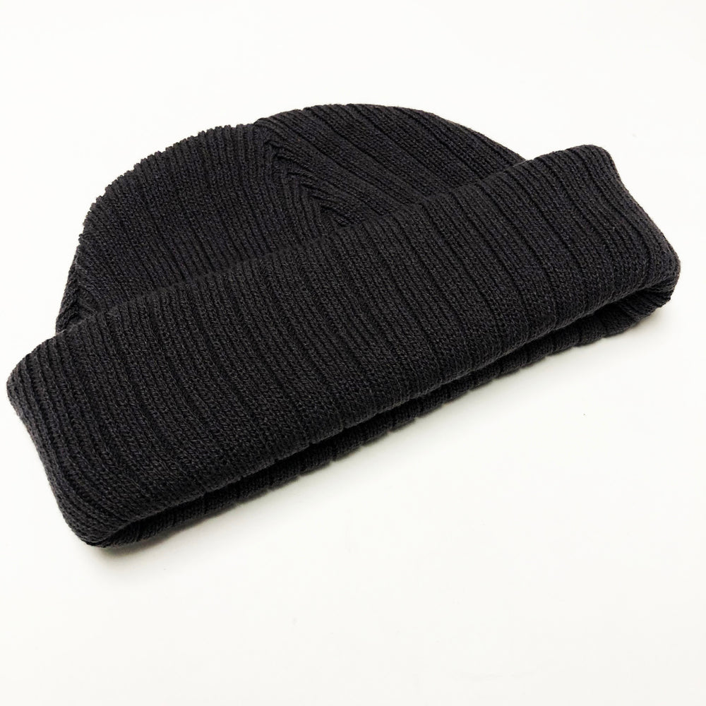 Ribbed Beanie | Black