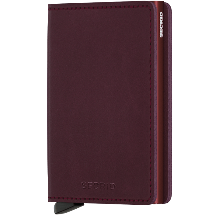 Slim Wallet | Original Bordeaux