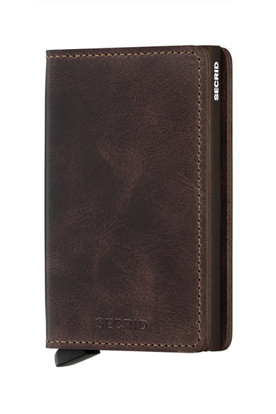 Slim Wallet | Vintage Chocolate