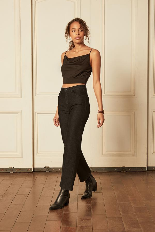 BOYISH JEANS The Mikey Black Beauty LEO BOUTIQUE