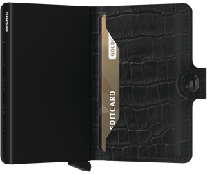 Mini Wallet | Cleo Black