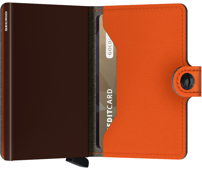 Mini Wallet | Yard Orange