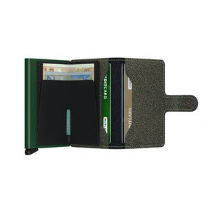 Mini Wallet | Twist Green