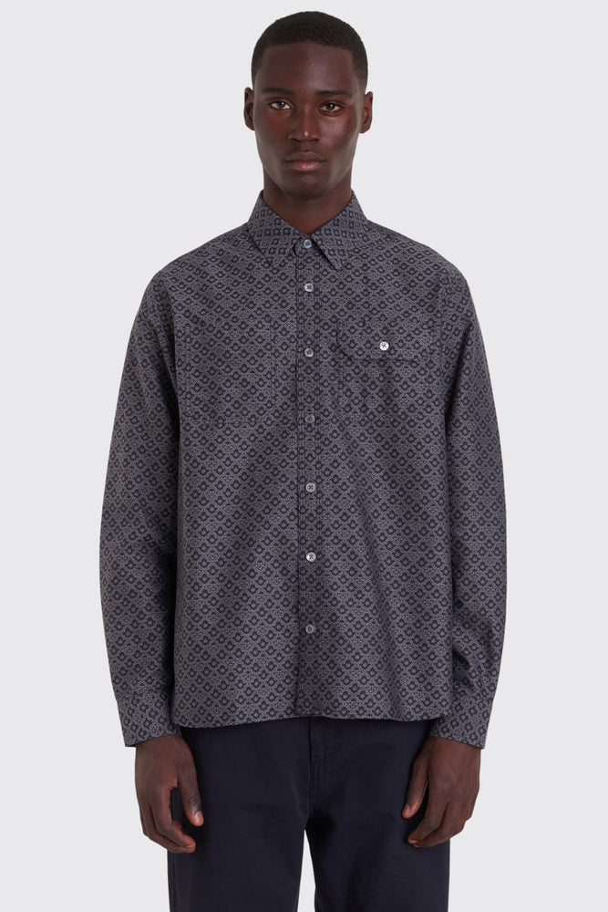 Work Shirt Jacquard | Black